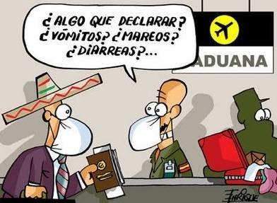 Mexicanos en la aduana