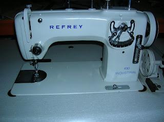Maquinas de coser MUGA EGN: Maquina de coser REFREY 430, 427