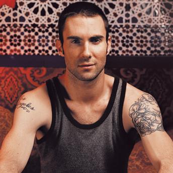 M4m body magnificent adam levine for Maroon 5 tattoos hindu
