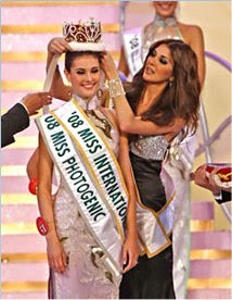 The crown of Miss International 2008 has new owner, Alejandra Andreu, Miss International 2008 Photos
