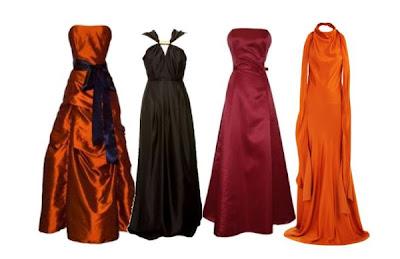 vestidos de seda para formatura