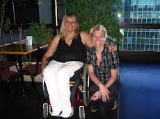 Con Marianne Mollman, Directora de Human Rights en el Salón de la Cámara de Diputados.