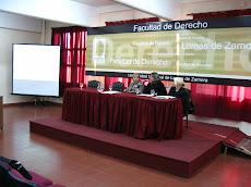 Facultad de Derecho. Exposición sobre el Derecho al trabajo de las personas con discapacidad