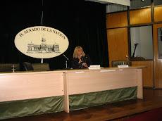Presentación del Libro Telecapacitados. Salón Manuel Belgrano. Senado de la Nación.