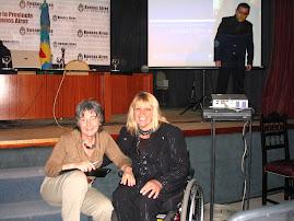 """En la Casa de la provincia de Buenos Aires, durante el Seminario """"Ciudades sin discriminación"""""""