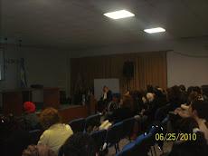 Centro Universitario de la Ciudad de Chivilcoy.  Participantes del Taller sobre la CDPD