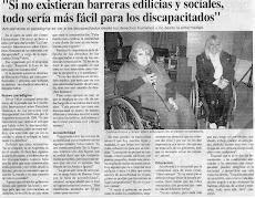 Diario de Chivilcoy. Nota por la Jornada de Derechos Humanos en el Centro Universitario