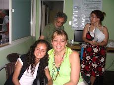 INCLUIR. En el transcurso de la Fiesta de Fin de Año con Ofelia, una de mis alumnas.
