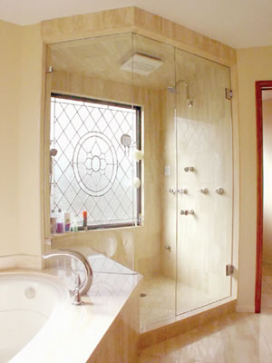American Bath And Shower Company frameless shower doorsfabricating the dream bath | atm mirror and