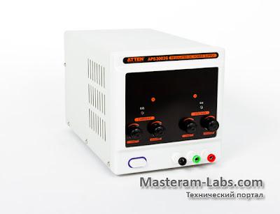 Лабораторный блок питания ATTEN APS 3003S