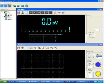 диалоговая программа портативного осциллографа Hantek DSO1060