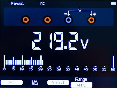 Функция мультиметра измерительного прибора Hantek DSO1060