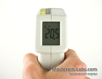 Инфракрасный пирометр Pro'sKit MT-4003