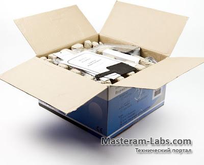 Упаковка термовоздушной паяльной станции для бессвинцовой пайки AOYUE 2702A+