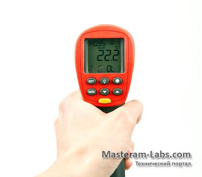 Эргономика профессионального инфракрасного пирометра Uni-T UT305C