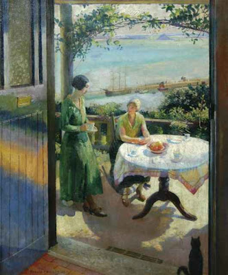 Harold Charles Harvey (1874-1941) BlueDoor_Harvey