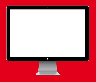 Gallery Vector Art Mac Lcd Template