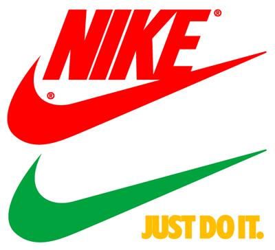 Nike swoosh\