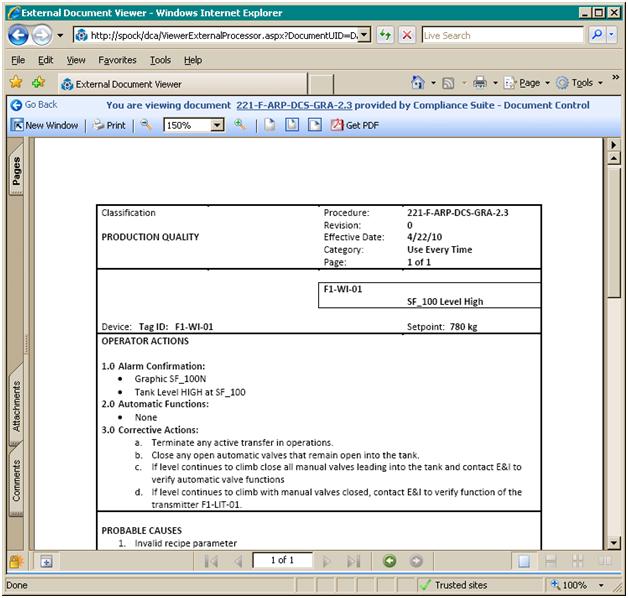 alarm management for process control pdf