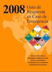 GUIA DE EMERGENCIA MATERIALES PELIGROSOS