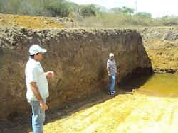 Barreiro Trincheira em Construção