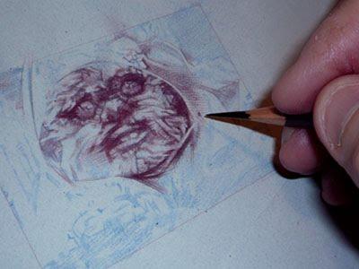 Ewok, Wicket, original art by Jeff Lafferty