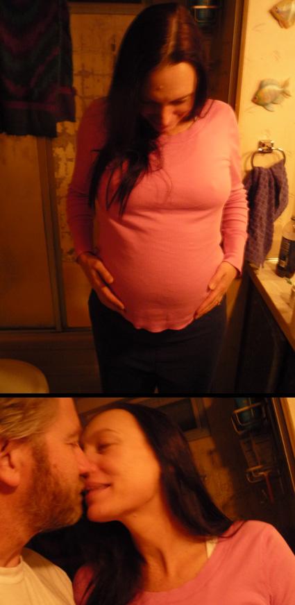 Tanya's Pregnat Belly