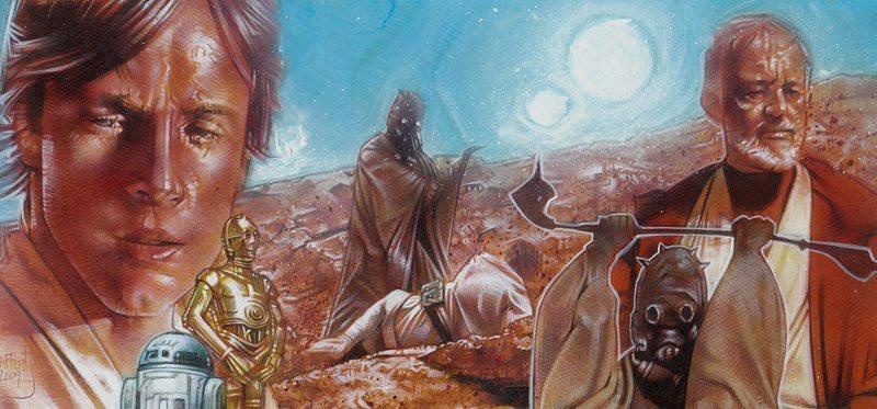 Starwars ACEO Sketch Card by Jeff Lafferty