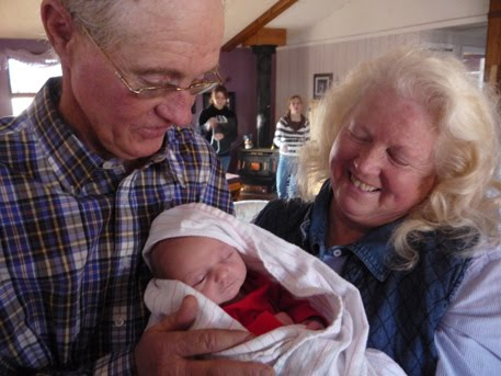 Grandpa, Grandma and Tristan