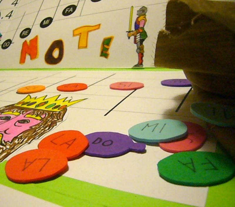 Voglio una mela blu gioco didattico musicale la tombola delle note fai da te da scaricare - Tombola gioco da tavolo ...