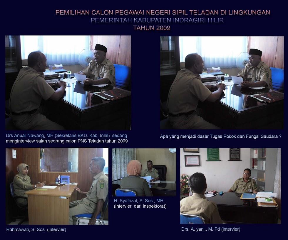 Interview PNS Teladan Tahun 2009