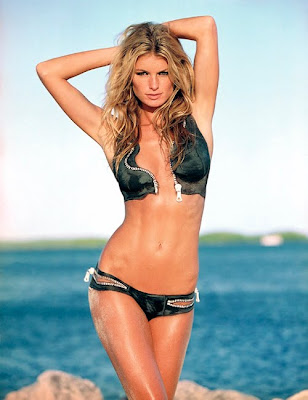 Marisa Miller Body Paint