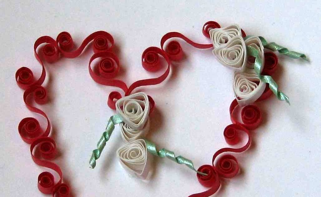 Quilling art and expression free quilling heart pattern for Quilling heart designs