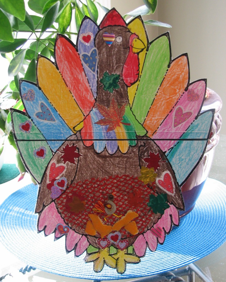 Quilling, Art and Expression: Free Quilled Turkey Project