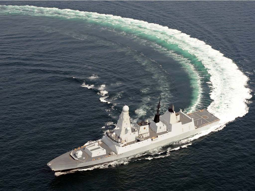 royal navy s latest destroyer is launched all about military