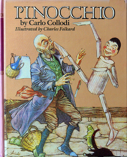 a report on the book pinocchio by carlo collodi Carlo collodi is an artistic name of an italian author carlo lorenzini he wrote a couple of books: giannettino, manuzzuolo and pinocchio.