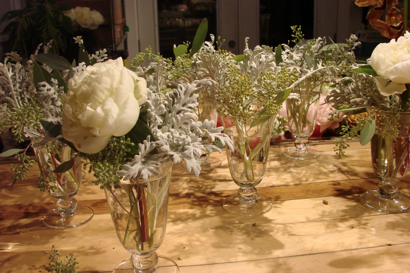 New years eve wedding emily herzig floral studio centerpieces in progress at the eh floral studio reviewsmspy