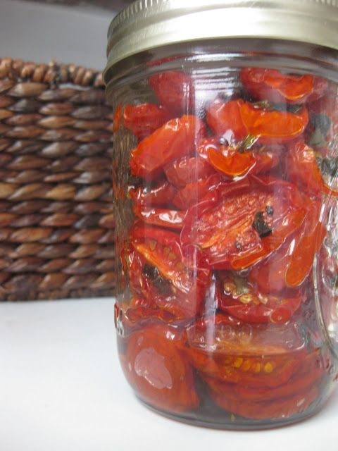 The Blueberry Files: Slow Roasted Tomatoes