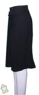 celana-rok hitam
