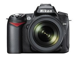 Nikon D90. The first D-SLR with movie shooting function.