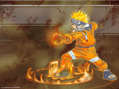 Naruto Wallpaper. Fire Circle