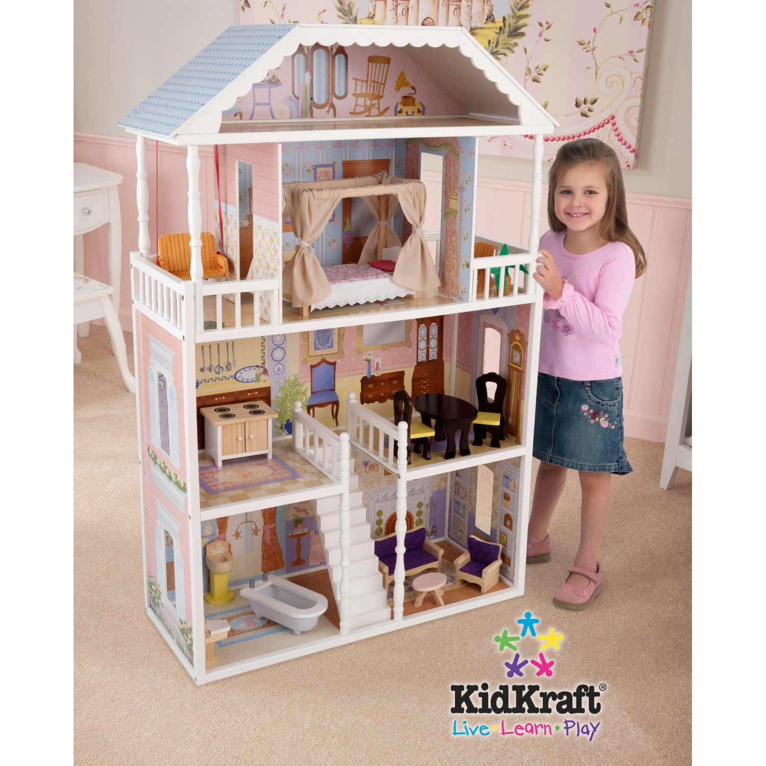 Savannah dollhouse november 2010 - Maison poupee kidkraft ...