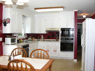 Before & After...a 1980's Kitchen gets a makeover