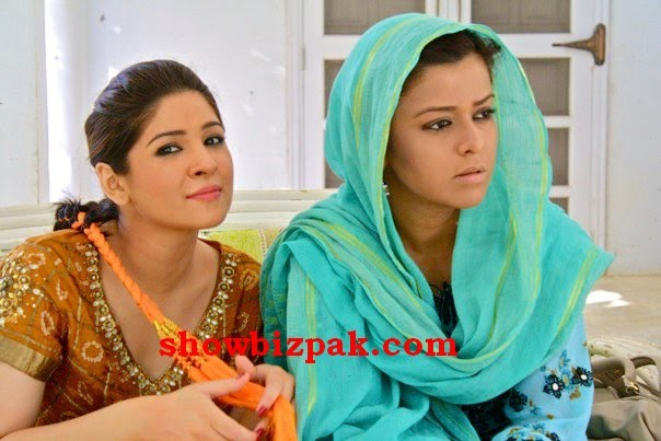 Savera Nadeem Marriage http://www.showbizpakblog.com/2010/05/on-sets-woh-chaar.html