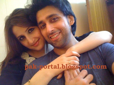 sami khan wedding Sami Khan with Wife (Wedding