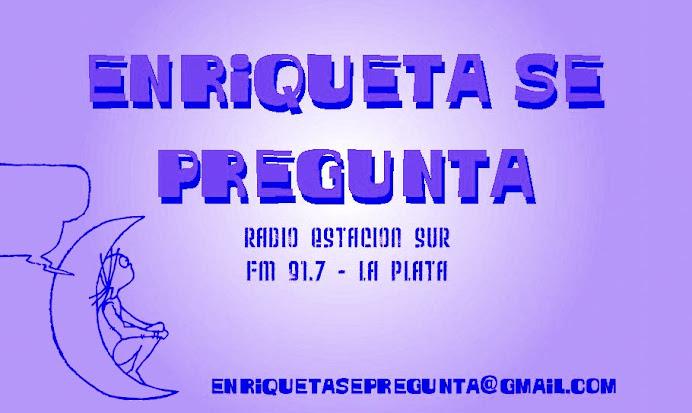 Enriqueta se pregunta - La entrevista del sábado al mediodía