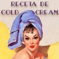 RECETA DE COLD CREAM O CREMA DE GALENO
