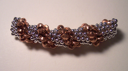 futuregirl craft blog : Crochet Beaded Bracelet
