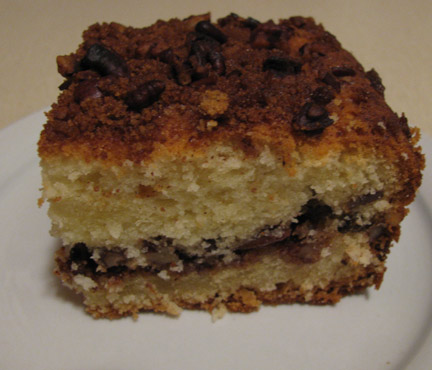 Real Food Fast!: Extra moist coffee cake