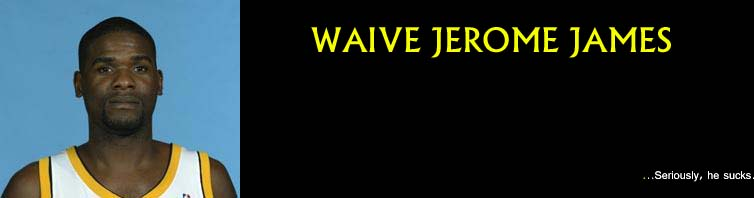 Waive Jerome James